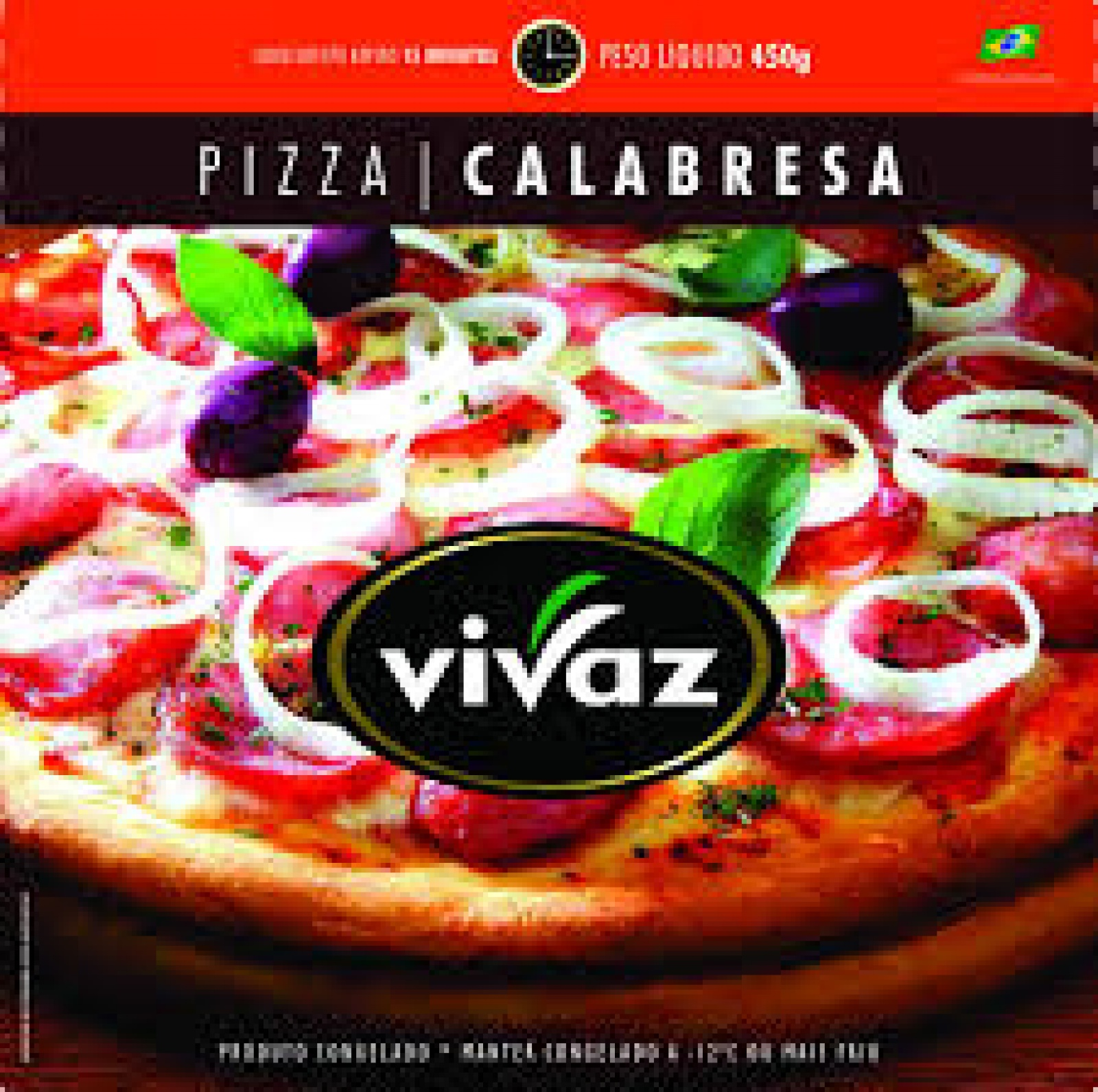 Pizza Calabresa 450g