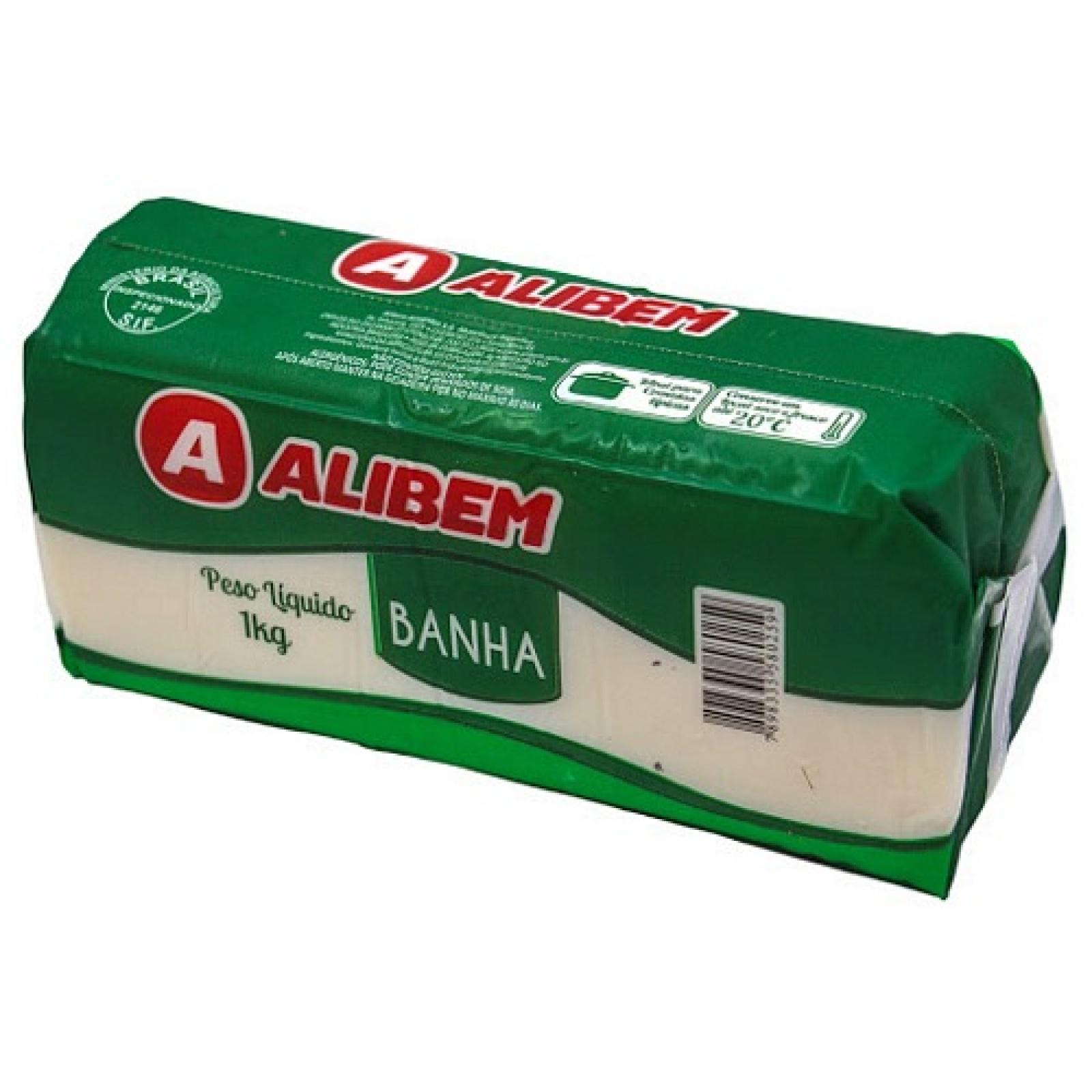 Banha Suína Alibem 1kg