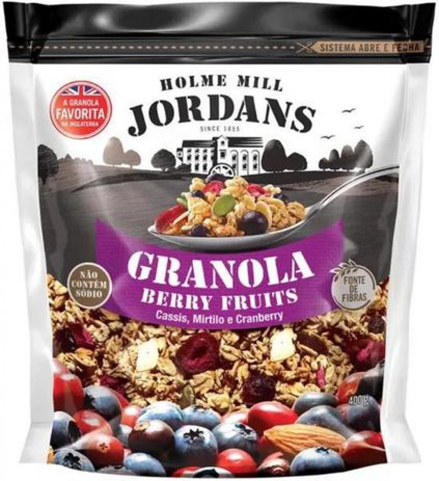Granola Berry Fruits 400g