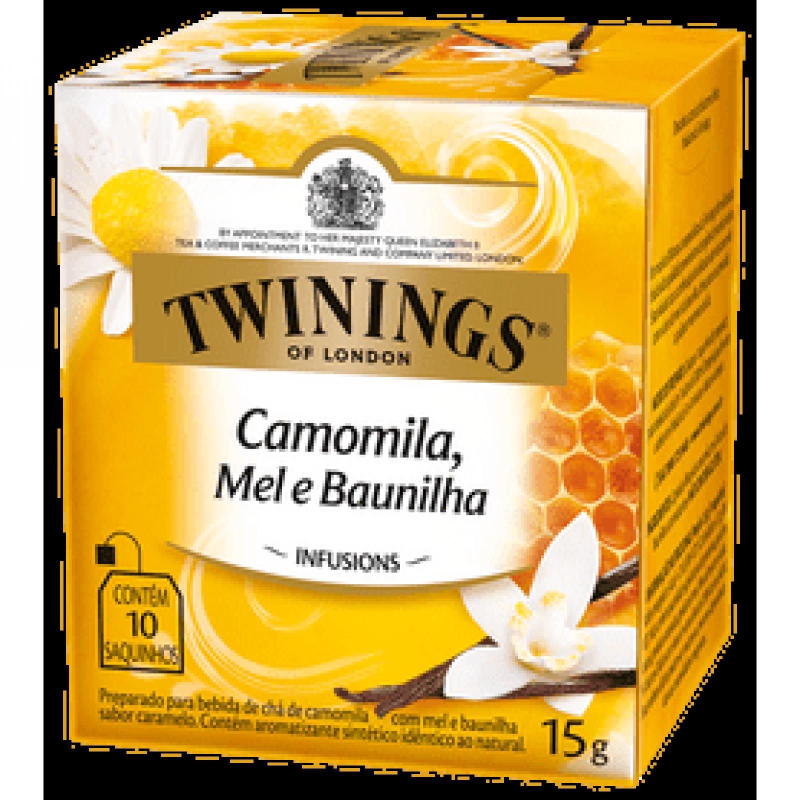 Chá Misto Camomila+mel+baunilha 15g