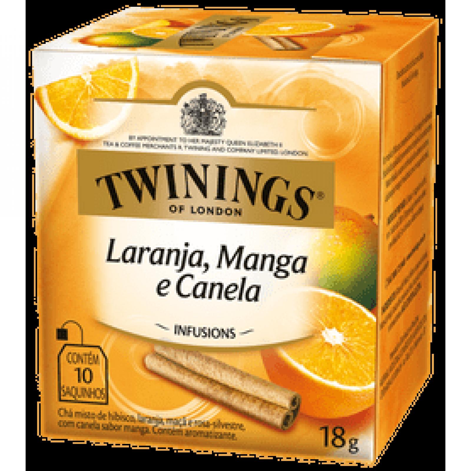 Chá Misto Laranja+Manga+Canela 10g