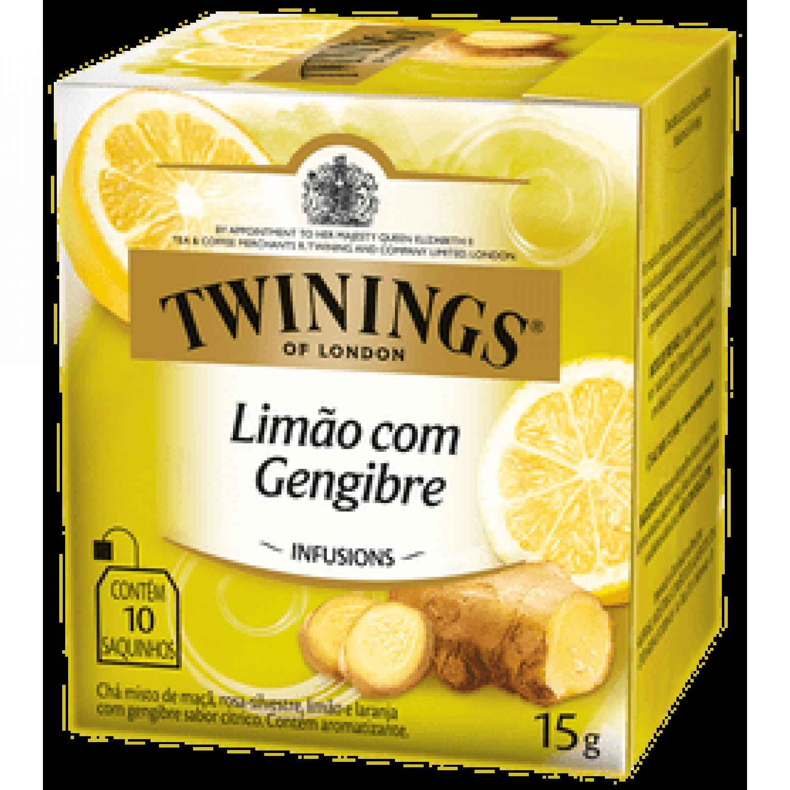 Chá Misto Limão c/Gengibre 15g