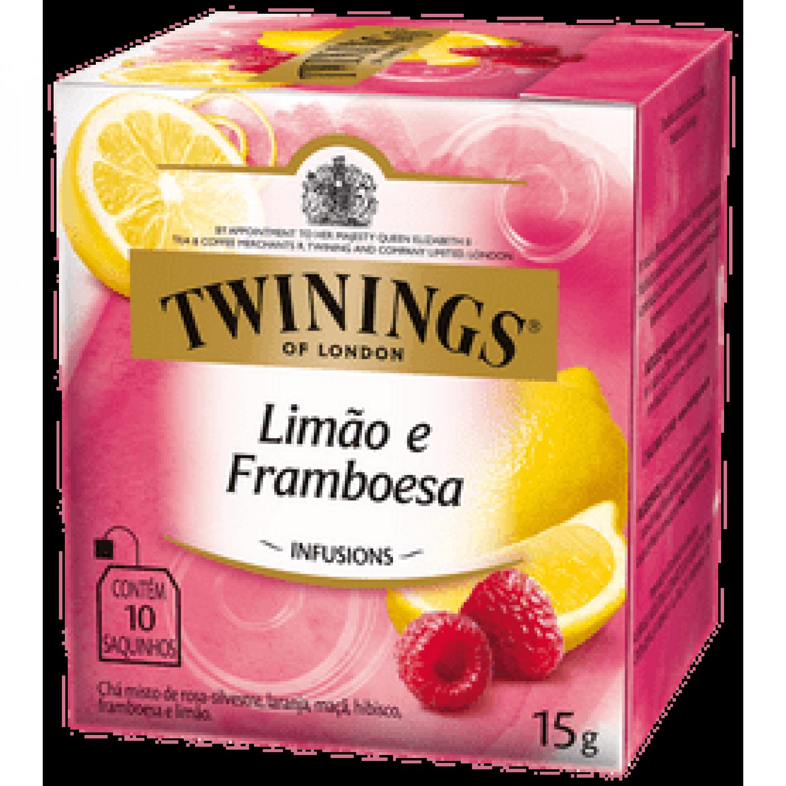 Chá Misto Limão e Framboesa 15g