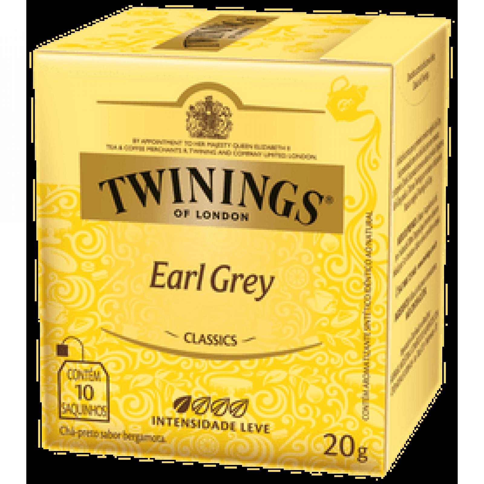 Chá Preto Earl Grey 20g