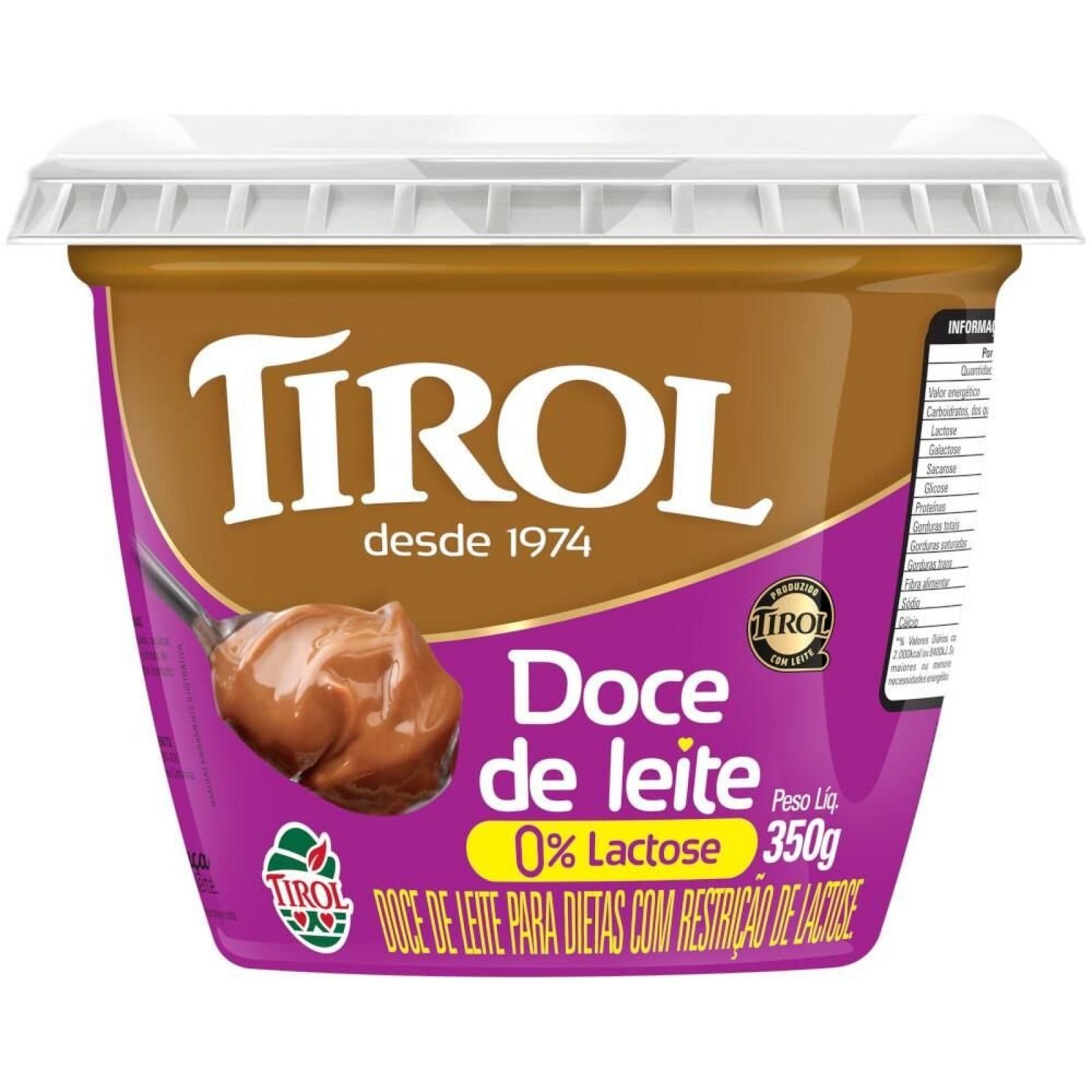 Doce de Leite Zero Lactose 350g