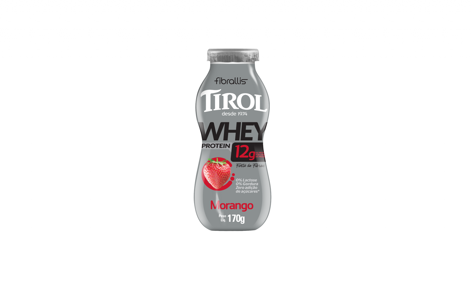 Iogurte Alta Proteína Morango 170g