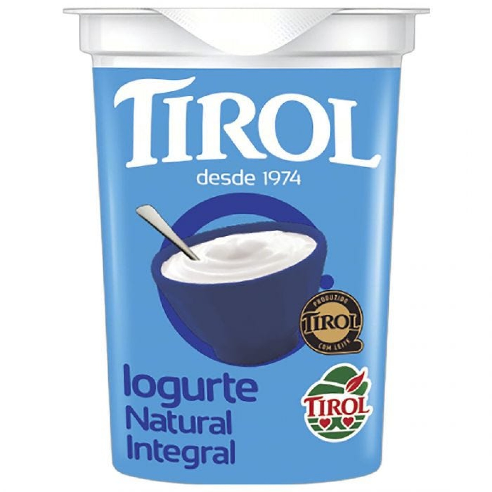 Iogurte Natural Integral 160g