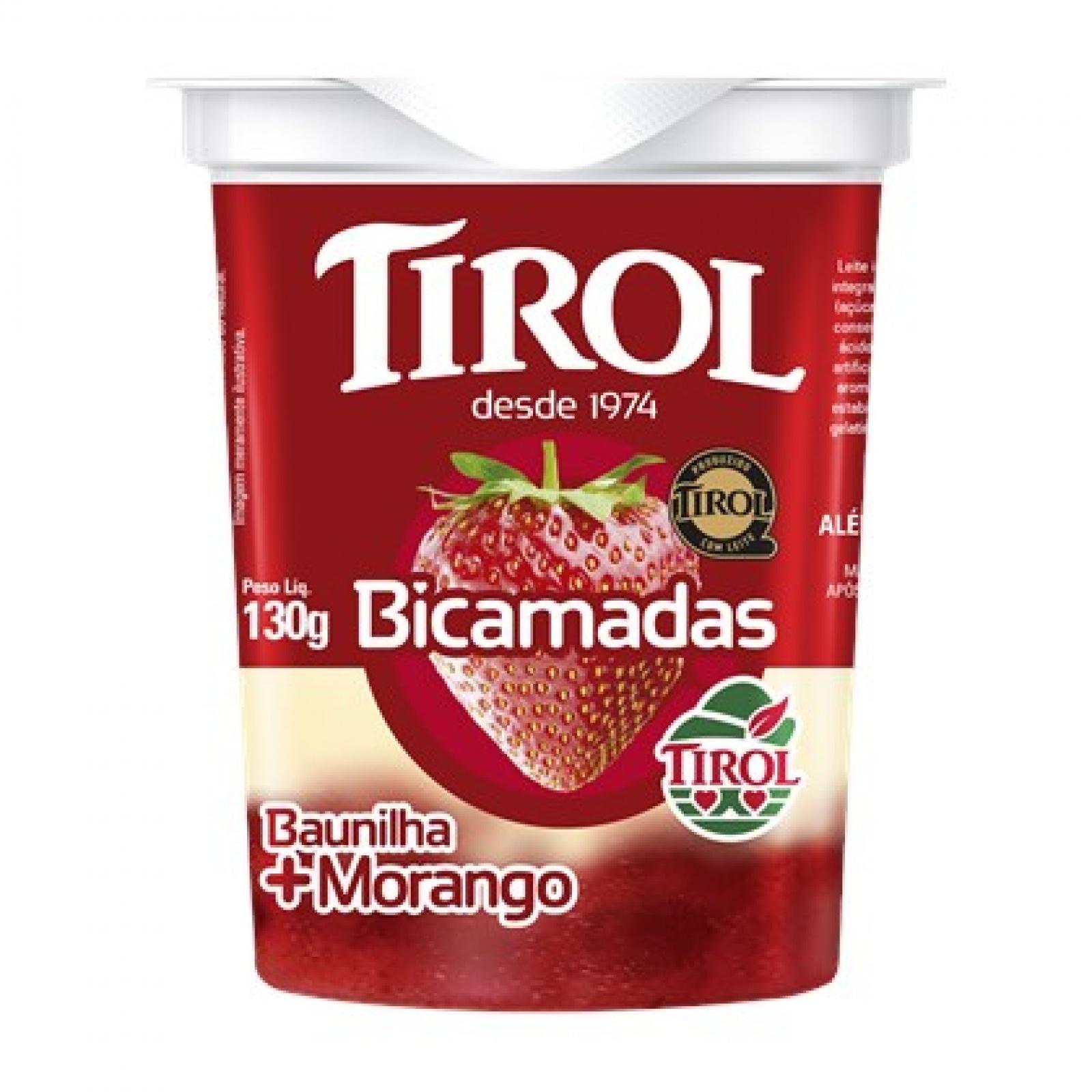Iogurte Bicamadas Morango 130g