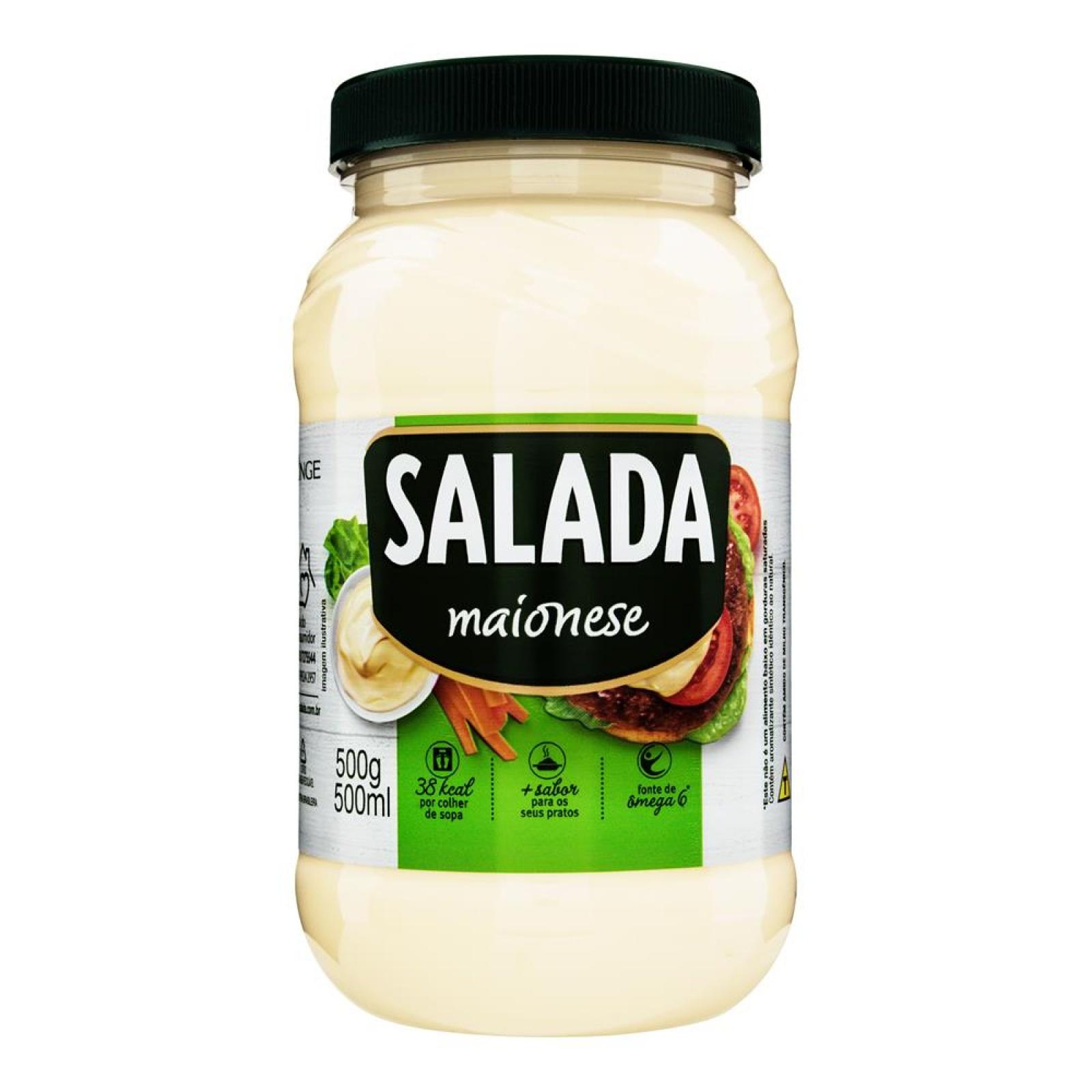 Maionese Salada Pote 500g