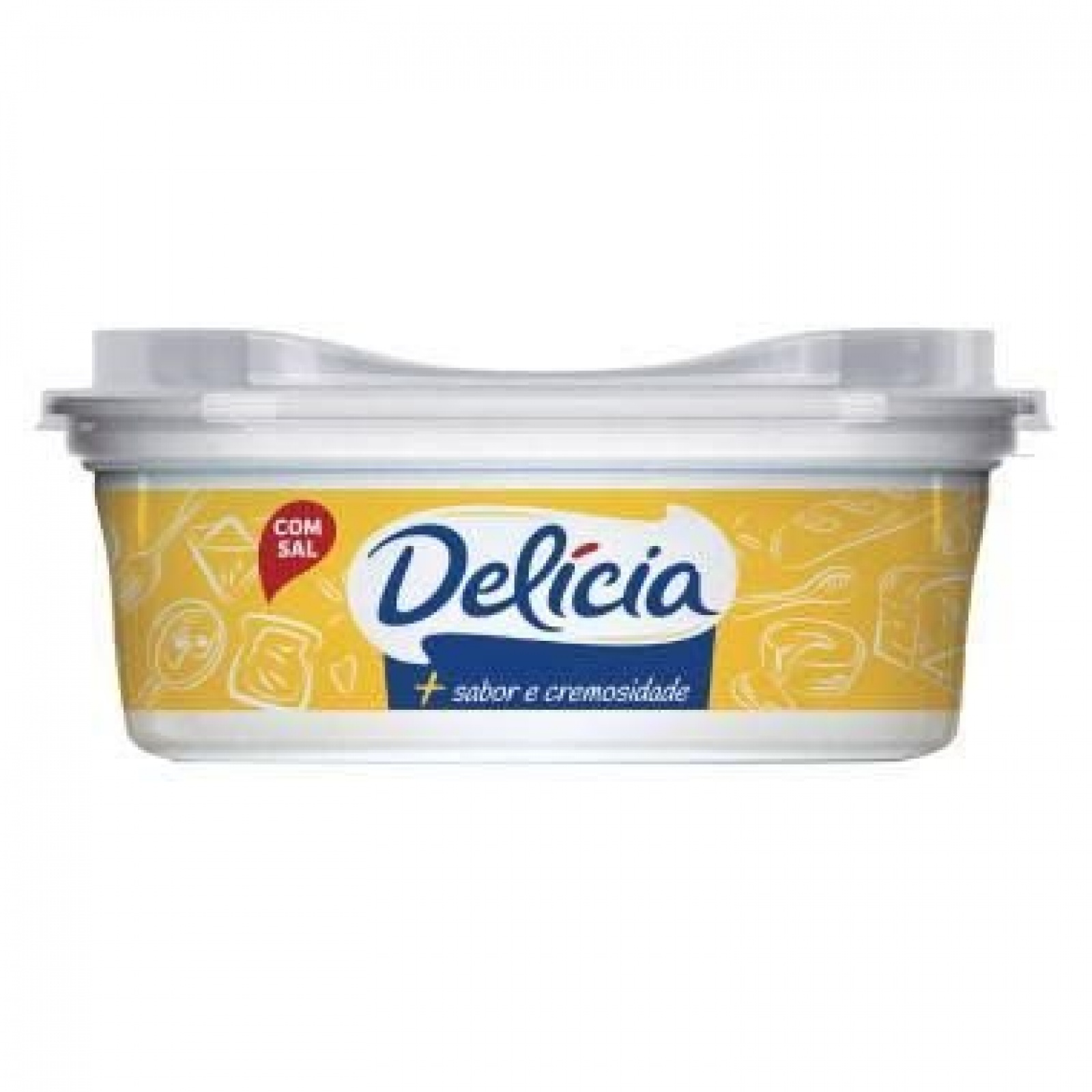 Margarina Delícia c/s 250g