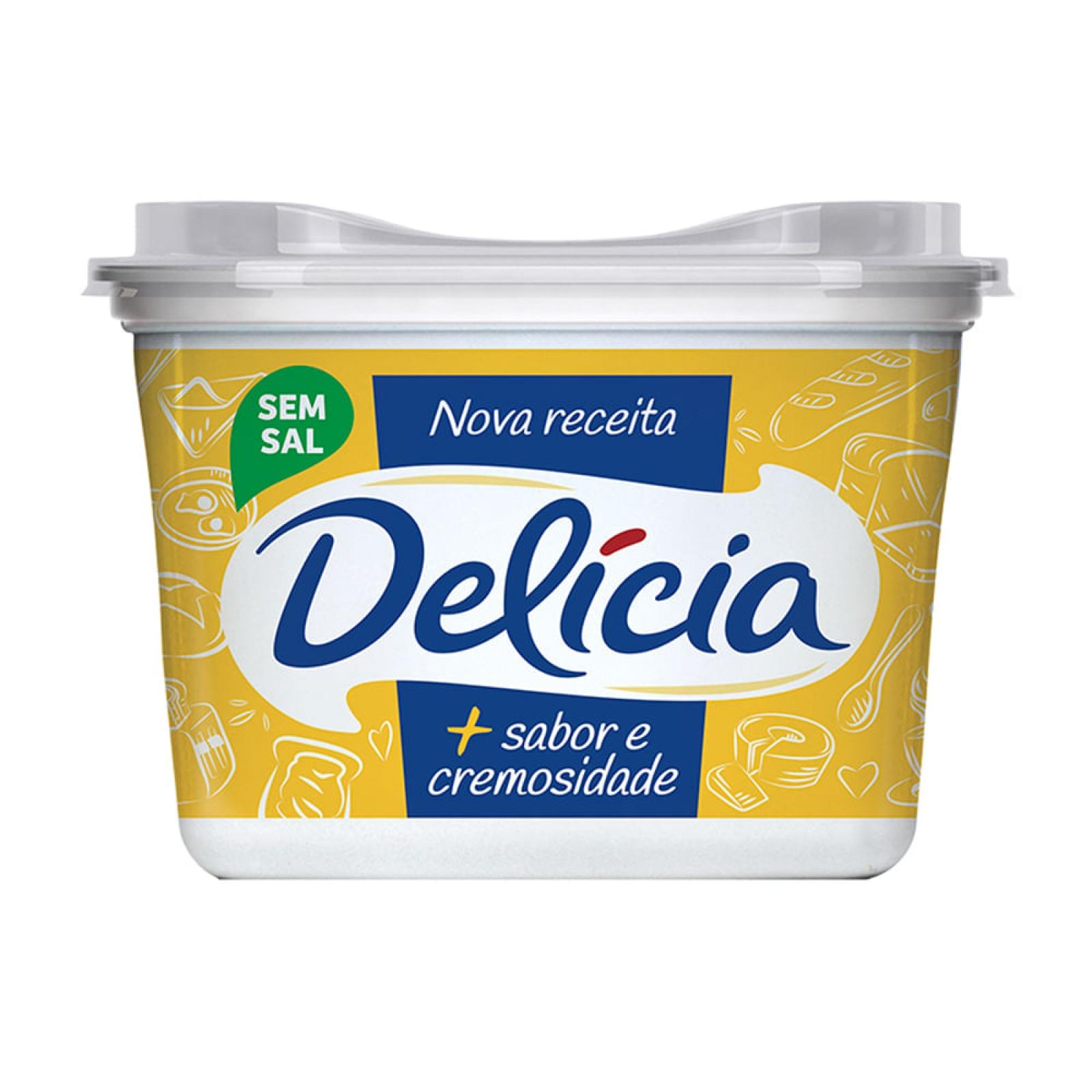 Margarina Delícia s/s 500g