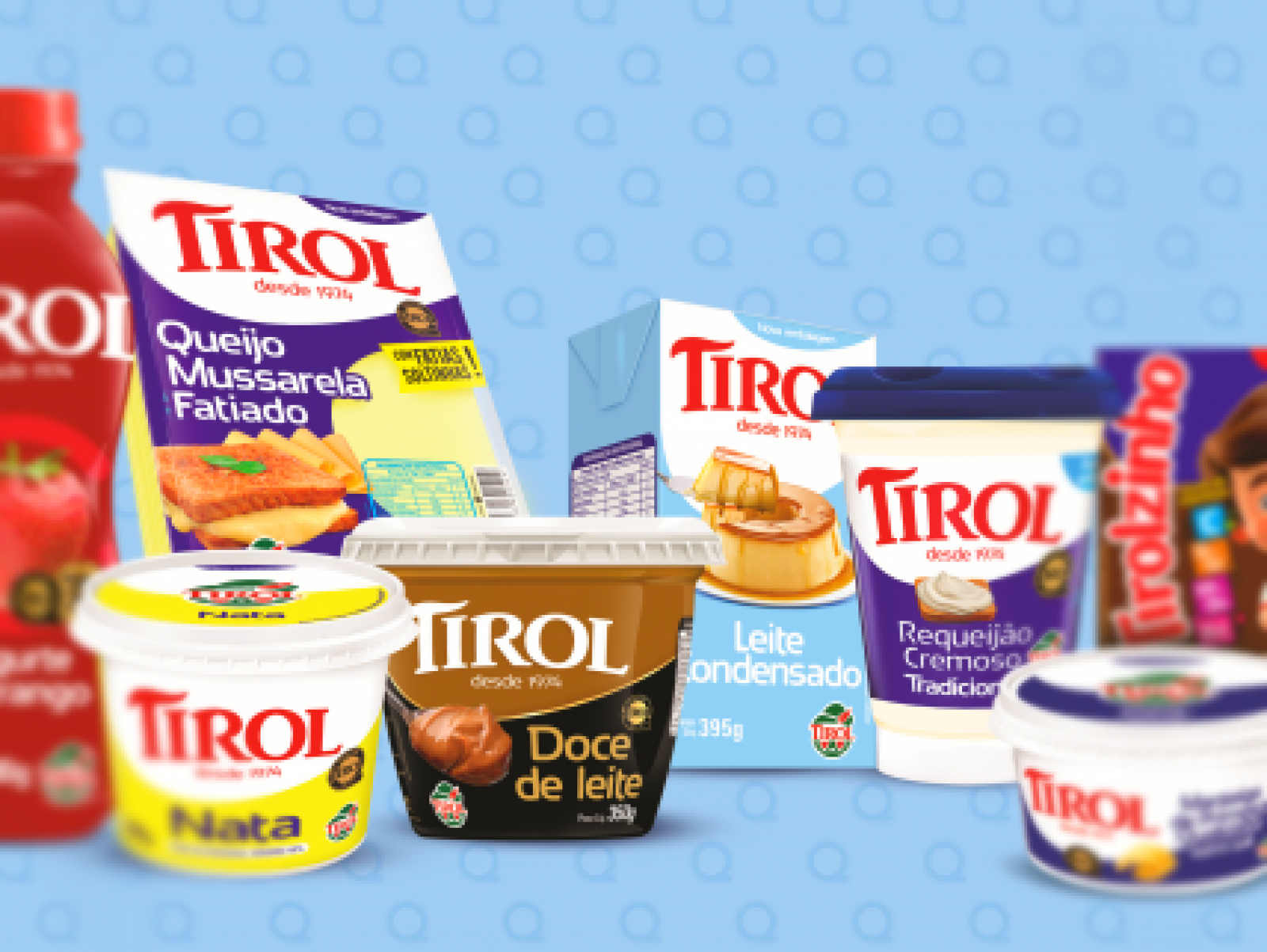 Tirol anuncia novas embalagens