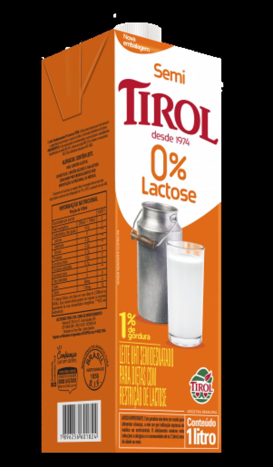 Leite Zero Lactose 1L