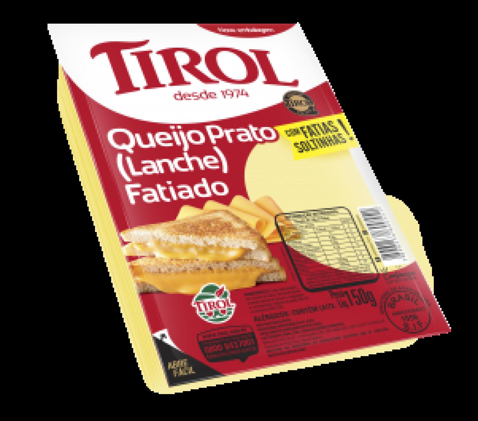 Queijo Prato Fatiado 150g