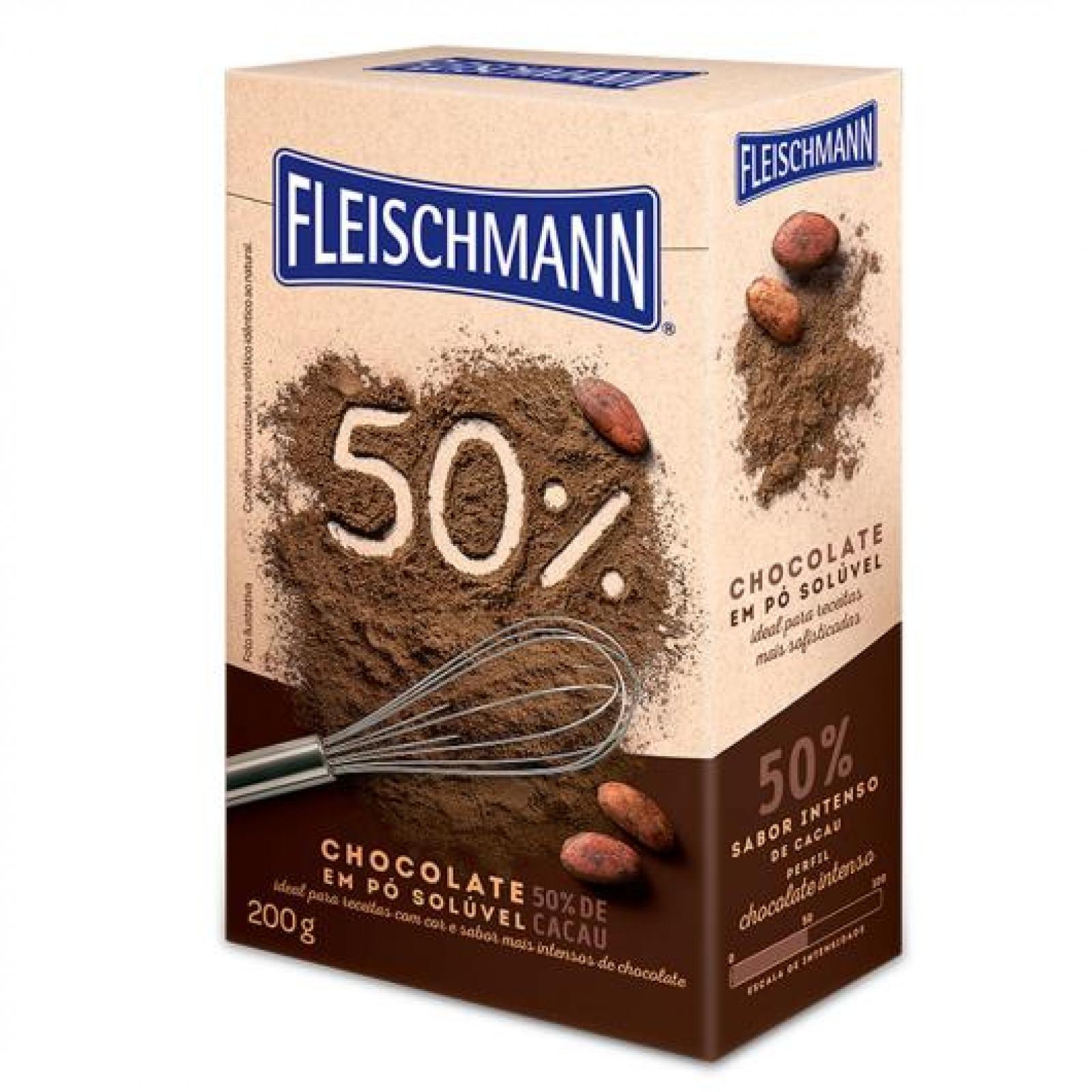 Chocolate em Pó 50% Cacau
