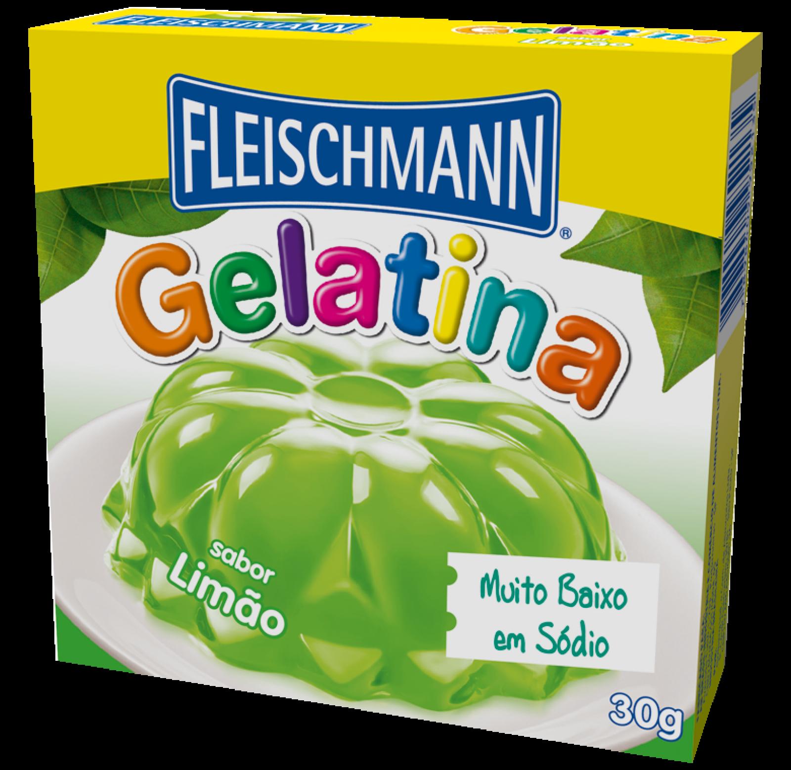 Gelatina Limão 30g