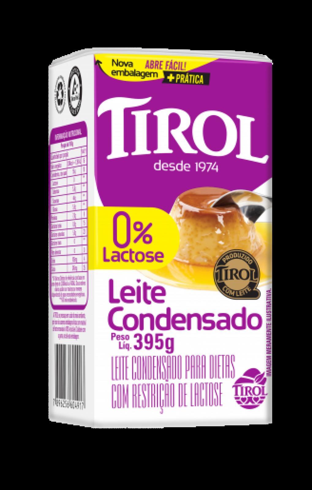Leite Condensado Zero Lactose 395g