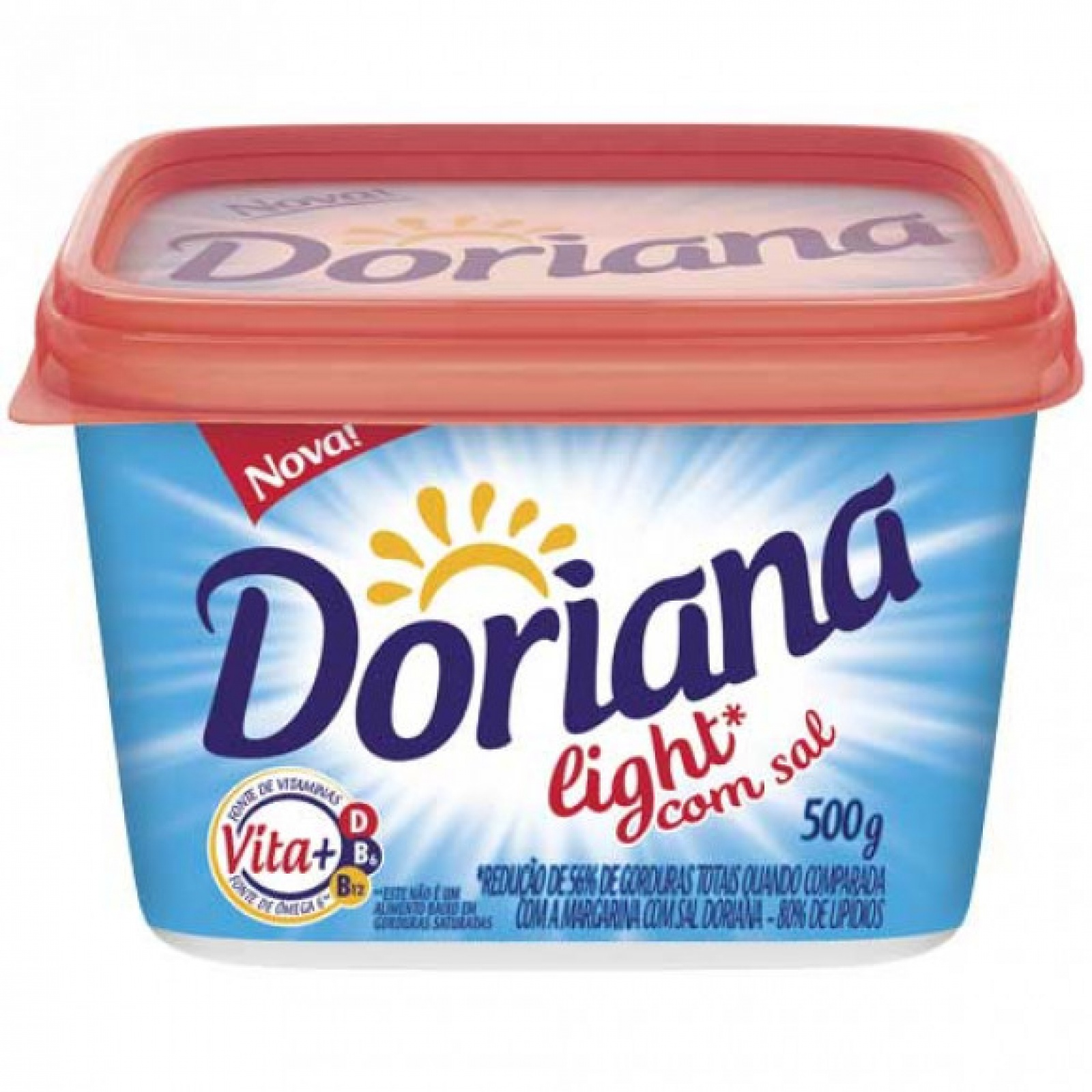 Margarina Doriana Light C/ sal 500g