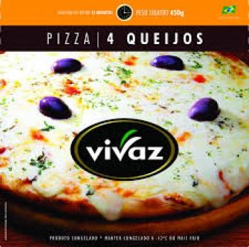 Pizza 4 Queijo 450g