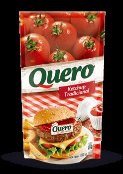 Ketchup Trad. Quero 1,1kg