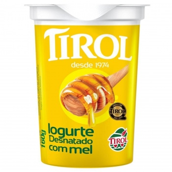 Iogurte Natural c/mel 160g