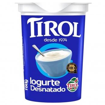 Iogurte Natural Desnatado 160g
