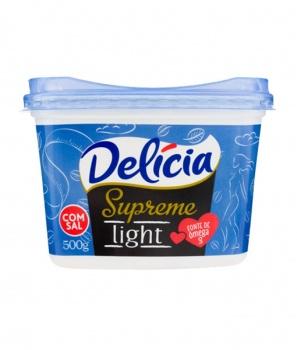Marg. Delícia Supreme Light c/s 500g