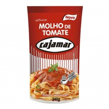 Molho Tomate Cajamar 340g