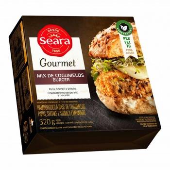Mix Cogumelos Burguer Gourmet 320g