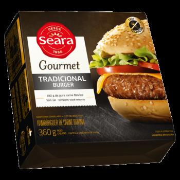 Tradicional Burguer Gourmet 360g