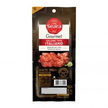 Salame Italiano Fatiado Gourmet 100g