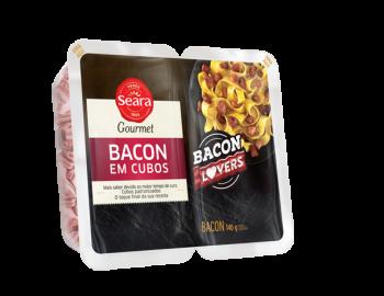 Bacon em Cubos 140g