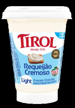 Requeijão Cremoso Light 180g