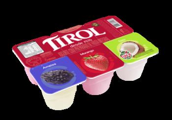 Iogurte Bandeja Polpa de Fruta 540g