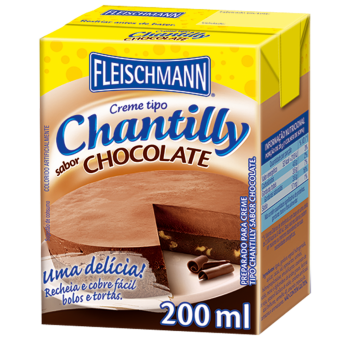 Creme Chantilly de Chocolate 200ml