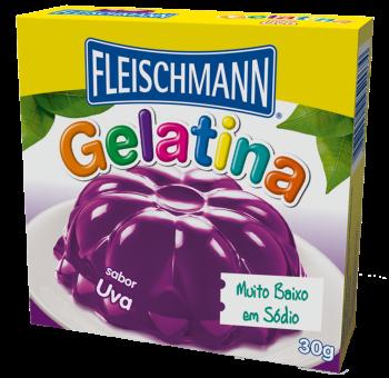 Gelatina Uva 30g